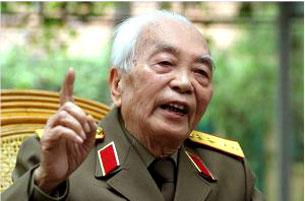Đại tướng Võ Nguyên Giáp. Photocoutesy bauxite-website
