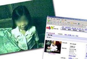 Trẻ em cũng bị rao bán trên internet