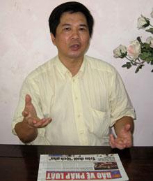 LS Cù Huy Hà Vũ. (Hình do LS cung cấp.)