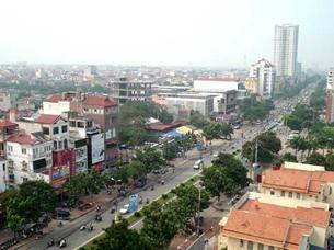 Thị trường điạ ốc Hà Nội mang chiều hướng phát triển về hướng tây, bao gồm một phần tỉnh Hà Tây, theo cùng một phương án của Bộ Xây Dựng. Photo courtesy of VietnamNet.