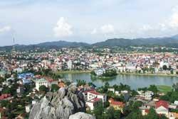 Thành phố Lạng Sơn. Photo courtesy of vietbalo.vn