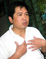 Luật sư Cù Huy Hà Vũ. RFA file photo