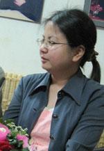 Luật sư Lê Thị Công Nhân chụp hôm 7 tháng 3, 2010