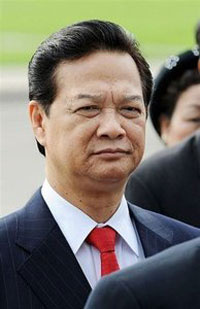 Ông Nguyễn Tấn Dũng. AFP Photo/Hoang Dinh Nam