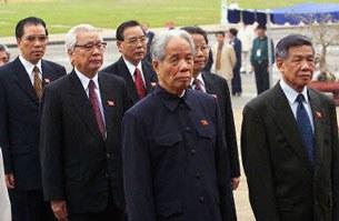 Những nhân vật lãnh đạo của đảng CSVN.