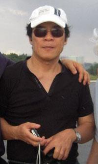 Anh Trần Ngọc Thành ở Mã Lai năm 2010. Hình do anh Thành cung cấp.