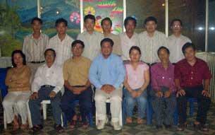 Một số thành viên nhóm 8406. Hình của nhóm 8406.