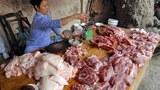 Một quầy bán thịt ở Hà Nội. (Ảnh minh họa)