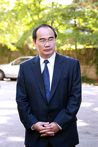 Bộ trưởng GDĐT Nguyễn Thiện Nhân. Photo courtesy of wikipedia
