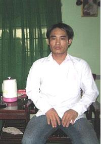 Hình chụp anh Hoành  tức Đoàn Huy Chương tại SG ngày 15/05/08. Hình của MS. Nguyễn Hồng Quang