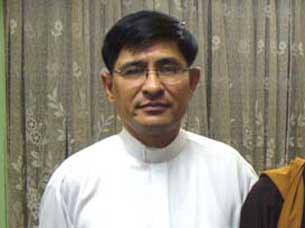 Mục sư Nguyễn Hồng Quang, quản nhiệm Hội thánh Tin Lành Mennonite ở TPHCM.
