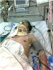Dù được tận tình cứu chữa nhưng ông Trịnh Xuân Tùng đã không qua khỏi. Source VietGiaiTri.com