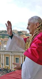 Đức Giáo Hoàng Bênêđíctô. AFP photo