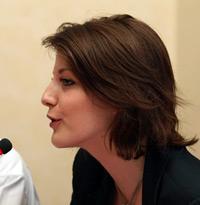 Bà Clothilde Le Coz, Trưởng Văn Phòng Internet và Tự Do Báo Chí của RSF.