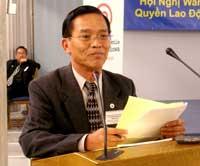Giáo sư Nguyễn Thanh Trang. Hình của Vietnam Review