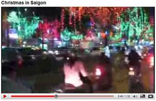Giá sinh ở Sài Gòn. Hình chụp từ Youtube/GongNone