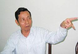 Luật sư Nguyễn Đăng Trừng