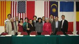 Các thành viên của UBBVNLĐVN cũng đến từ khắp nơi trên thế giới