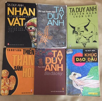 Các tác phẩm đã xuất bản của nhà văn Tạ Duy Anh