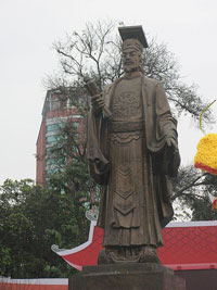Tượng Lý Thái Tổ tại Hà Nội