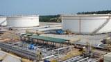 Khu vực chứa dầu ở Dung Quất