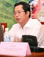 Chủ tịch tỉnh Hà Giang Nguyễn Trường Tô. Hình blog Phạm Viết Đào.