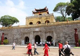 Hoàng thành Thăng Long trong thời gian diễn ra Đại Lễ 1.000 năm Thăng Long - Hà Nội.