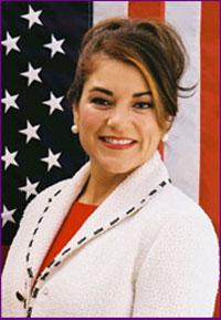 Nữ Dân biểu Hoa Kỳ Loretta Sanchez.  Photo courtesy of lorettasanchez.house.gov