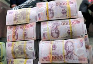Loại tiền polymer đang được xử dụng ở Việt Nam. AFP