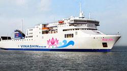 Tàu Hoa Sen, một trong những dự án thua lỗ của Vinashin. Photo courtesy of VietNamNet.