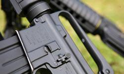 Ảnh chụp phần thân của súng M-18 trong buổi hợp luyện diễu binh. Photo courtesy of Datviet.