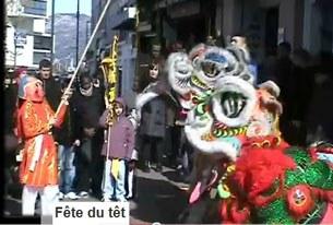 Tổ chức múa lân ngày Tết Việt Nam tại Paris