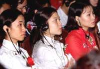 Phụ nữ Việt Nam tham dự hội thảo
