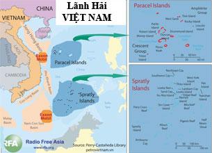 Bản đồ lãnh hải Việt Nam