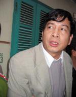 Ông Bùi Tiến Dũng, Tổng giám đốc PMU18, từng bị tố cáo đã lấy tiền viện trợ phát triển để ăn chơi, đánh bạc, cá độ. RFA file photo