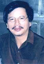 Nhà văn Trần Mạnh Hảo. RFA file photo.