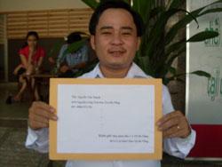 Anh Nguyễn Văn Thạnh, ảnh chụp trước đây.