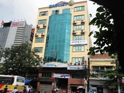 Tòa nhà Tập đoàn Bảo Việt tại Hà Nội, ảnh chụp hôm 14/08/2011. RFA PHOTO.