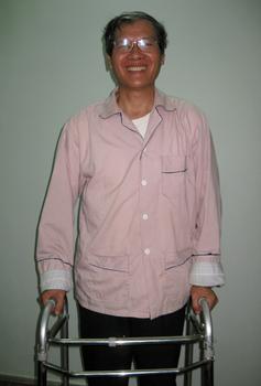 Hình minh họa. Linh mục Nguyễn Văn Lý ở Huế hôm 15/3/2010.