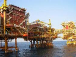 Dàn khoan dầu của ONGC, Ấn Độ- ONGC photo
