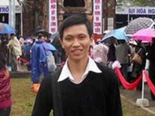 Thanh niên Công giáo Paul Trần Minh Nhật (ảnh chụp trước đây)