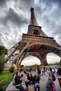 Tháp Eiffel - Paris, ảnh minh họa. Photo by Dolinh/RFA
