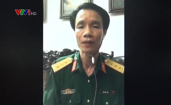 Hình ảnh ông Bùi Tiến Lợi trên VTV.