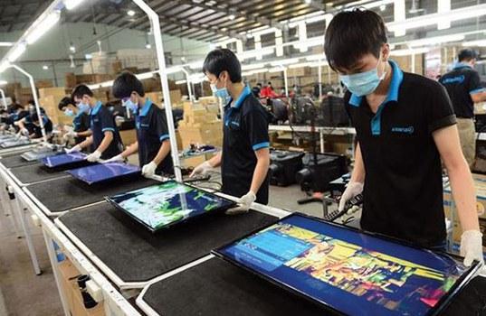 Công nhân công ty Asanzo đang làm việc. (Ảnh minh họa)