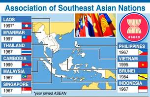 Các quốc gia trong khối ASEAN
