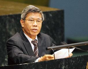 Ông Lê Đức Thúy nguyên Thống đốc Ngân Hàng nhà Nước Việt Nam từ năm 1999 cho tới năm 2007. AFP