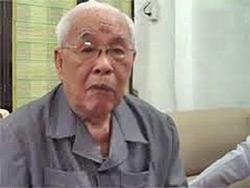 Cụ Lê Quang Liêm, hội trưởng giáo hội Phật Giáo Hoà Hảo tại Việt Nam. File Photo