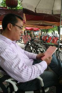 Anh Nguyễn Chí Đức. Photo courtesy of Nguoibuongio's blog.