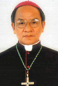 Giám mục địa phận Kontum Hoàng Đức Oanh. Photo courtesy of catholic.org