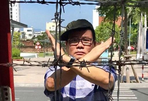 Hình ảnh Blogger Trương Duy Nhất đăng lên trang cá nhân của mình tháng 5 năm 2017. (Ảnh minh họa)